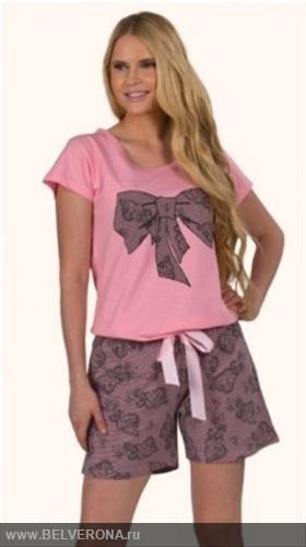 Пижама с шортами женская сшить