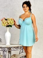 Сорочка Dea Fiori Blu beri Night dress Soft